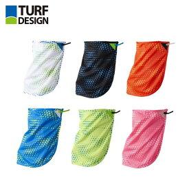 【土日もあす楽】ゴルフ マスク TURF DESIGN タフデザイン TDNM-1970 ネックマスク NECK MASK 日焼け防止 UVカット クール ドライメッシュ フェイスカバー 全6色 夏