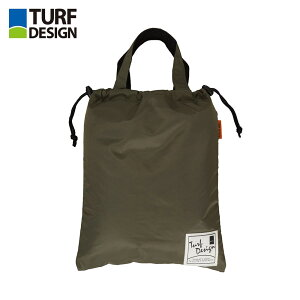 ゴルフ バッグ TURF DESIGN ターフデザイン シューズバッグ TDSB-1772 アクセサリー カーキ