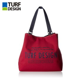 ゴルフ バッグ TURF DESIGN ターフデザイン トートバッグ TDTB-1773 レッド