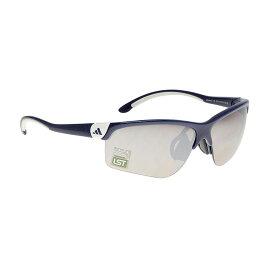 adidas(アディダス) サングラス アイウェア adivista a164 01 6092 カーボンブルー/ホワイト Lサイズ スポーツサングラス テニス ゴルフ メンズ レディース UVカット
