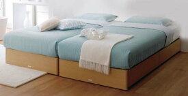 ASLEEPセミダブルベッド スターリナ ヘッドレスタイプ ベーシックタイプ※別途料金でレッグタイプ、ドロアー(引出有)タイプに変更できますナチュラル色orミディアムブラウン色別料金で床板をポプラスノコに変更可能マット別