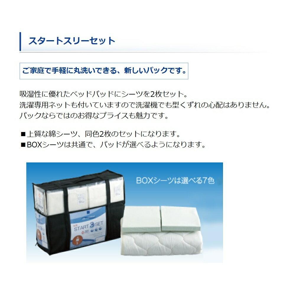 【日本製】ドリームベッドシングルサイズ E−WOOLパッド3点パック(シーツ×2+ベッドパッド×1)マチサイズは基本30cm別途料金で、36cm、45cmもできます!シーツのカラーも7色対応送料無料(北海道・沖縄・離島は別途見積もり)