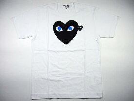 COMME des GARCONS(コム デ ギャルソン) 青目 黒ハートTシャツ AZ-T088