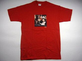 Supreme Supreme Kennedy JFK photo BOX logo T Shirt red