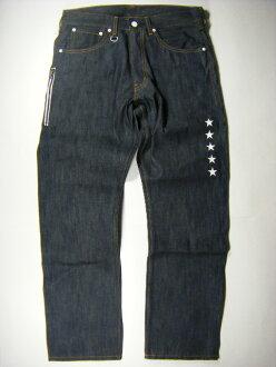 LEVI'S李维斯×FRAGMENT片断Fenom 207 Five Star Print Jeans