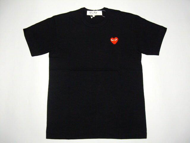☆COMME des GARCONS☆ PLAYハートワンポイントTシャツ AZ-T108