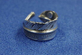 ジャムホームメイドJAM HOME MADE HALF DOLLAR FEATHER RING M