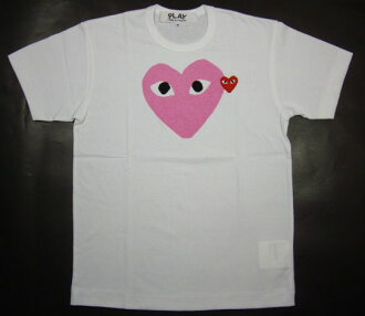 ☆ COMME des GARCONS ☆ PLAY heart T shirt