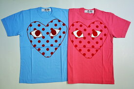 ☆COMME des GARCONS☆ PLAY Big dot Heart TシャツAZ-T276