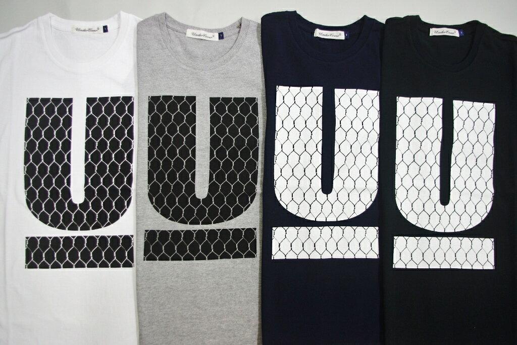 UNDERCOVERアンダーカバー UアンダーバーU MESH Tシャツ