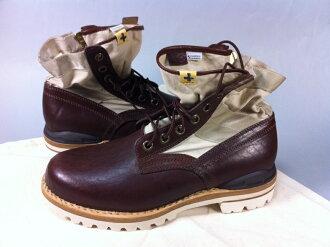 visvimビズビム7-HOLE 73-FOLK长筒皮靴