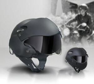 大人気のエアークラフトパイロットヘルメット再入荷!サイズの見直しと内装が取り外せる仕様になり更に快適に!!ラストチャンス!!うれしい即日発送!!マットブラック