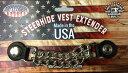 Made in U.S.A!アメリカンアクセサリー!!ベストのお共に!!簡単に装着可能!!しかもドレスアップ効果MAX級!!ベストエクステンダ…