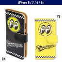 【DM便なら送料無料】MOONEYES iPhone8, iPhone7 & iPhone6/6s フリップ ケース