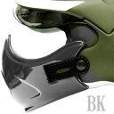 OSBE/GPA共通エアクラフトヘルメット 国内正規品カスタムペイントトップガンマスク 数量限定品 BK/ブラック