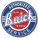 0185Buick Serviceビュイック ロゴ マークアメリカン雑貨 ブリキ看板Tin Sign ティンサイン3枚以上で送料無料!