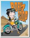 1035Boop Born to Boopベティ ブープ バイクアメリカン雑貨 ブリキ看板Tin Sign ティンサイン3枚以上で送料無料!