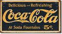 1235Coke Weathered 1910 Logo<br>コカコーラ Coca−Cola コーク ロゴアメリカン雑貨 ブリキ看板Tin Sign ティンサイン3枚以上で送…
