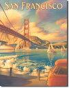1266Erickson Golden Gateエリクソン ゴールデンゲート サンフランシスコアメリカン雑貨 ブリキ看板Tin Sign ティンサイン3枚以上…
