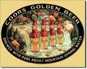 1311Coors Waterfallクアーズ ビア ビールアメリカン雑貨 ブリキ看板Tin Sign ティンサイン3枚以上で送料無料!