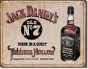 1419JD Tennessee HollowJack Daniel's ジャックダニエルアメリカン雑貨 ブリキ看板Tin Sign ティンサイン3枚以上で送料無料!