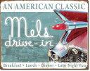 1677Mels Drive in Classicメルズ ドライブインアメリカン雑貨 ブリキ看板Tin Sign ティンサイン3枚以上で送料無料!