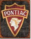 19401930 Pontiac Logoポンティアック レトロ ロゴアメリカン雑貨 ブリキ看板Tin Sign ティンサイン3枚以上で送料無料!