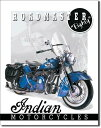 1084Indian インディアン ROADMASTERアメリカン雑貨 ブリキ看板Tin Sign ティンサイン3枚以上で送料無料!