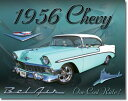 1607Chevy BEL AIR 1956シェビー ベルエアーアメリカン雑貨 ブリキ看板Tin Sign ティンサイン3枚以上で送料無料!