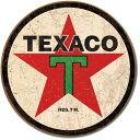 1798TEXACO テキサコ ガソリン モーターオイル '36アメリカン雑貨 ブリキ看板Tin Sign ティンサイン3枚以上で送料無料!