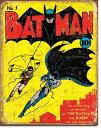 1966Batman No1 CoverRetroバットマン レトロアメリカン雑貨 ブリキ看板Tin Sign ティンサイン3枚以上で送料無料!
