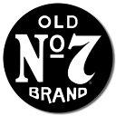1312Jack Daniels Old #7ジャックダニエル ナンバー7ロゴアメリカン雑貨 ブリキ看板Tin Sign ティンサイン3枚以上で送料無料!