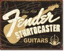 1994Fender Stratocaster 60thフェンダー ストラトキャスター エレキアメリカン雑貨 ブリキ看板Tin Sign ティンサイン3枚以上で送…