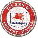 2025Mobil - Friendly Serviceモービルガスアメリカン雑貨 ブリキ看板Tin Sign ティンサイン3枚以上で送料無料!