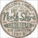 2054North Shore Surfノースショアサーフアメリカン雑貨 ブリキ看板Tin Sign ティンサイン3枚以上で送料無料!