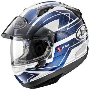 【ヘルメット】 ARAI ASTRAL-X CURVE ブルー BLUE 青 59-60cm フルフェイス アストラルX アストラルエックス カーブ