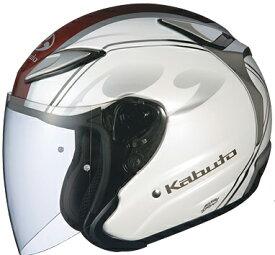 【ヘルメット】 OGK アヴァンド2 チッタ パールホワイト 59-60 (Lサイズ) オープンフェイス オージーケー AVAND2 CITTA