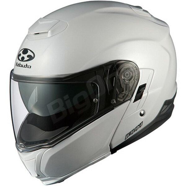 【ヘルメット】 OGK IBUKI パールホワイト PEARL WHITE 真珠色 Lサイズ オージーケー カブト イブキ システムヘルメット