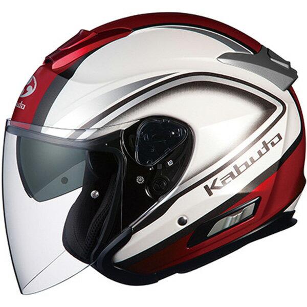 【ヘルメット】 OGK ASAGI CLEGANT パールホワイト PEARL WHITE Sサイズ オージーケー カブト アサギ クレガント オープンフェイス