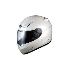 【ヘルメット】 OGK FF-R3 パールホワイト PERL WHITE 59-60cm未満(Lサイズ) オージーケー