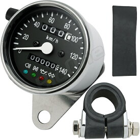 メーター LEDスピードメーター 黒 FTR223 ドラッグスター250 TW225 バルカン400 ビラーゴ250 グラストラッカー マグナ250 エストレア シャドウ400 TW200 ドラッグスター1100 SR400 ドラッグスター400クラシック バンバン200 マグナ250
