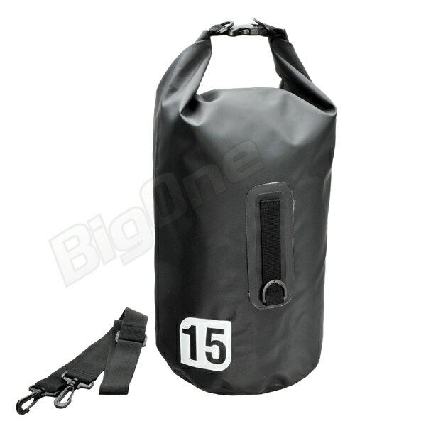 【防水バッグ】 X-EUROPE レイン バッグ 15L BLACK ブラック 黒 EG-6003 高さΦ23cm×高さ54cm ツーリング 通学 通勤 旅行 梅雨 防雨対策 バイク用品
