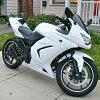 整流罩黑色 Ninja250R EX250K 忍者 250R EX250K/座椅 / 座椅罩 / 坐垫单板材 / 整流罩 / 单座椅套