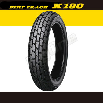 Dunlop DUNLOP K180 around common 120/80-12 55 J TL 120-80-12 DIRT TRACK both front & rear