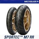 【タイヤ】 メッツラー METZELER SPORTEC M7 RR 前後タイヤ 120/70ZR17 (58W) TL 190/50ZR17 (73W) TL...