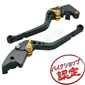 【ビレットレバーセット】レバーセット R-Type 黒/金 CBR600RR PC37 CBR954RR SC50 ブレーキレバー クラッチレバー