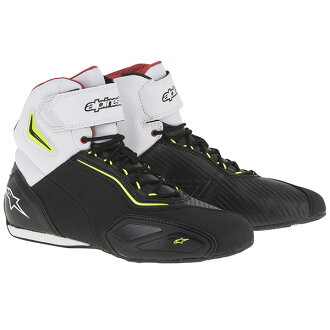 Alpinestars FASTER 2 SHOES black / fluorescent yellow FLUO BLACK/YELLOW Black / Yellow: l size: 9.5 (27 cm)