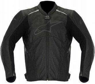 AVANT leather jacket Black BLACK size: avant 48 Alpinestars