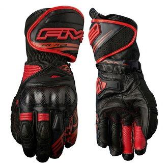 Five RFX2 016 GLOVE黑色/紅BLACK/RED黑/紅XL尺寸Five5