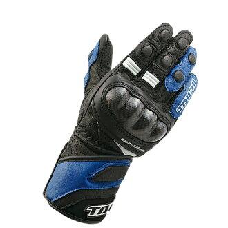NXT050 孩子一個 GP 賽車手套藍色/藍色 M 伯爵 Estrich RS 太極